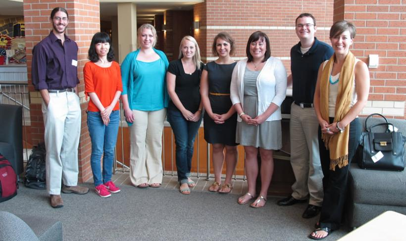 2014 Counseling Psychology Doctoral Student Cohort