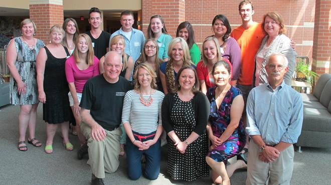 2013 Counseling Psychology Masters Students with Faculty