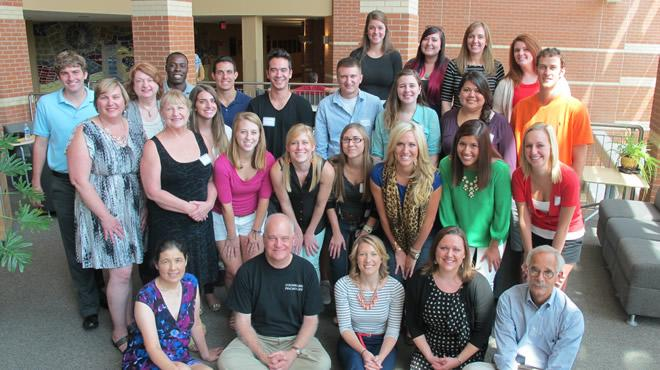 2013 Counseling Psychology Masters and Doctoral Students with Faculty