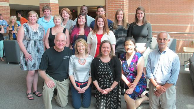 2013 Counseling Psychology Doctoral Students with Faculty