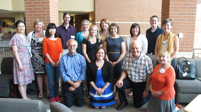 2014 Counseling Psychology Doctoral Student Cohort with Faculty